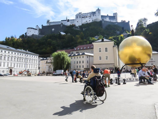 Salzburg Kaptitelplatz Festung