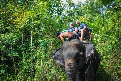 Thailand_Elefantenritt