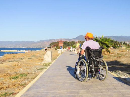 Zypern Blick aufs Meer