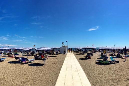 Nice sunny day in Grado Beach - Italy