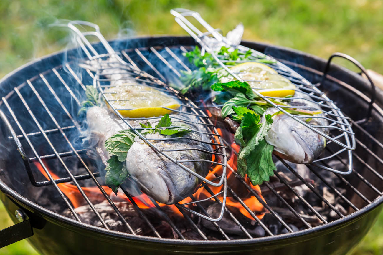 Istrien Fisch am Grill